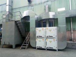 皮革厂废气处理工程