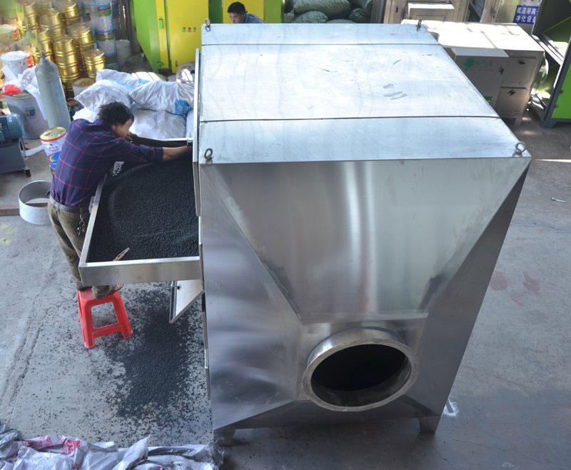 抽屉式不锈钢活性炭吸附箱