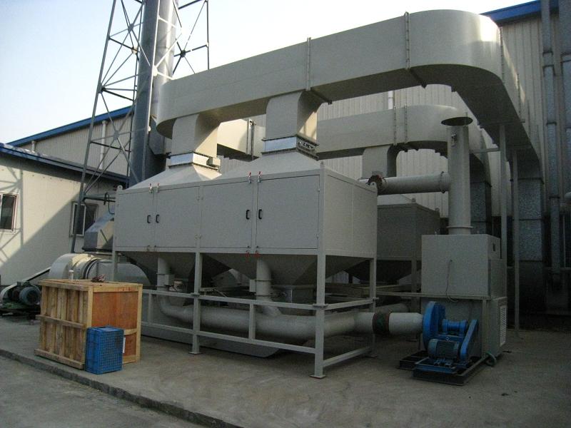绿深RCO蓄热式催化燃烧设备